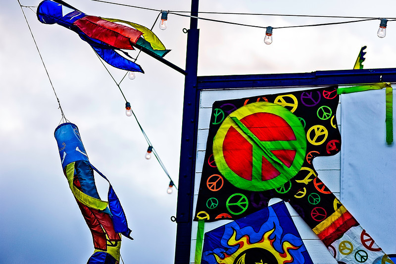 kite shop, Fisherman's Wharf, San Francisco, CA