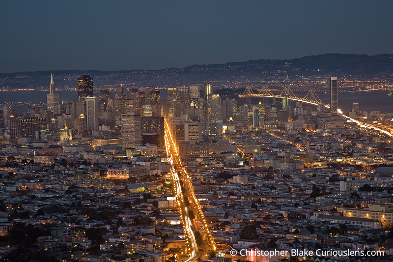 Downtown San Fran from Twin Peaks