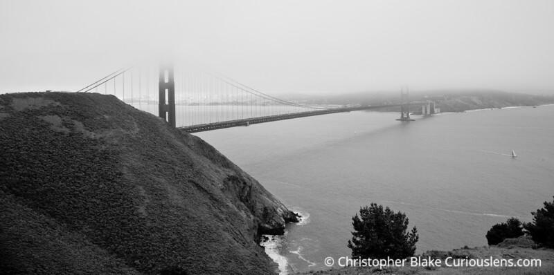 Golden Gate Bridge - Marin headlands