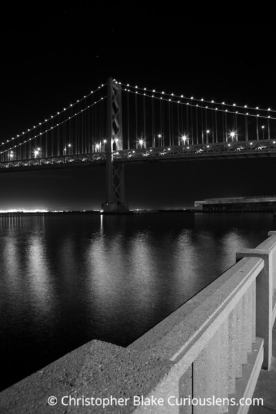 Bay Bridge - Alcatraz