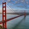 Golden Gate Bridge, San Francisco,  CA . Photograph taken just after dawn. Image copyright Nigel Keene
