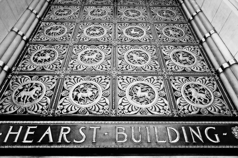 entrance to the Hearst Building, San Francisco, CA