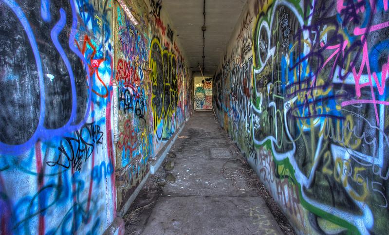 Graffiti Tunnel 4460