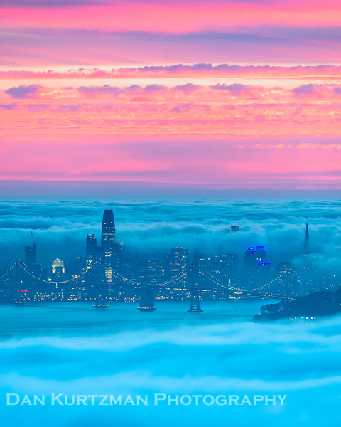 San Francisco Fog Sandwich