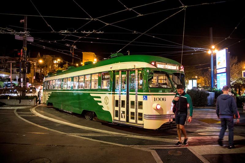 Streetcar near the Castro