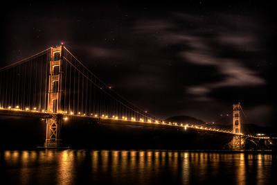 Golden Gate Bridge Early Morning