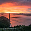 Sunrise Over San Francisco from the Marin Headlands
