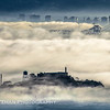 Alcatraz on a Foggy Morning