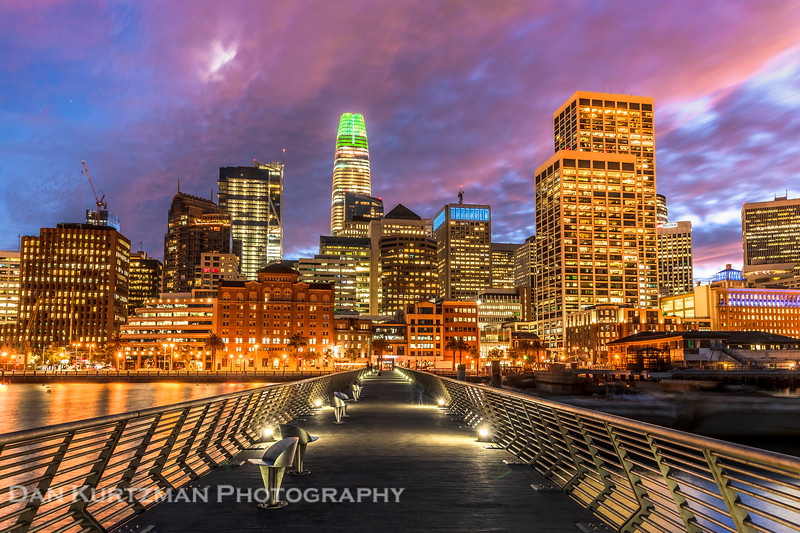 San Francisco Skyline from Pier 14