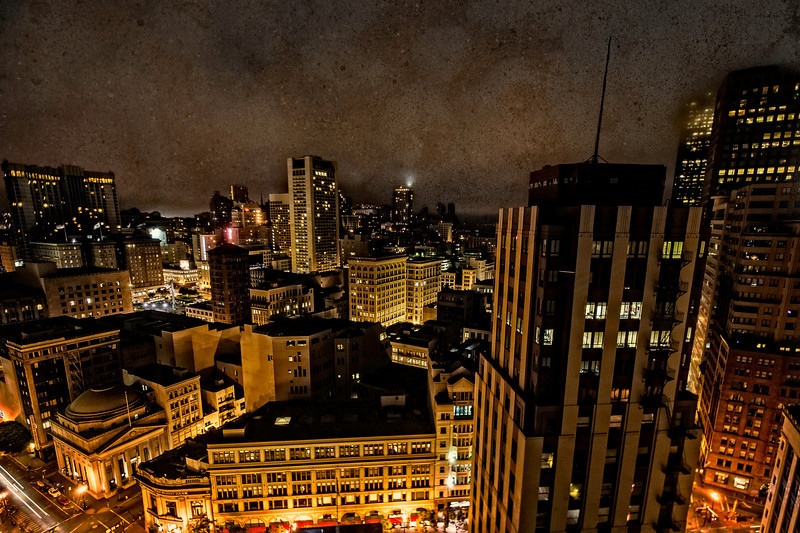 after dark, San Francisco