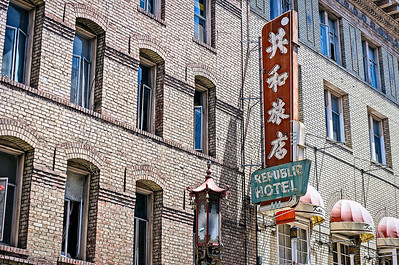 Republic Hotel, Chinatown, San Francisco, California
