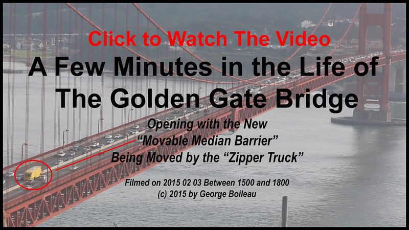 A Few Minutes in the Life of The Golden Gate Bridge