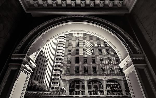 California St Arch-San Francisco