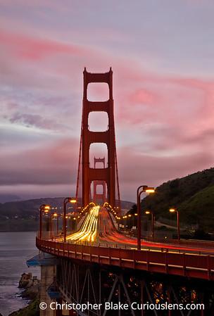 Golden Gate Bridge - Sunset - 2