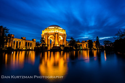 Palace of Fine Arts at Night