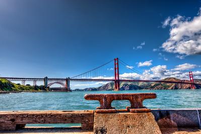 Fort Point Golden Gate Bridge