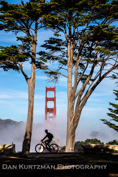 Morning Ride in the San Francisco Presidio
