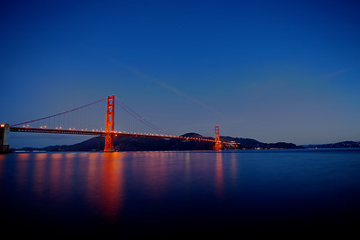 Golden Gate Bridge Smoothness in the Morning