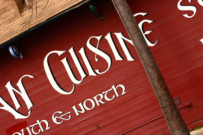 Cuisine near the pier