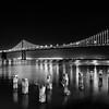 LED Lights on the Bay Bridge