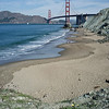 Golden Gate Bridge and Marshall Beach