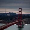Golden Gate facing Twin Peaks