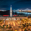 San Francisco Ferry Building and the Embarcadero