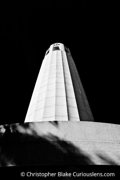 Coit Tower Dark - SF