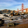 Golden Gate from Marshall Beach
