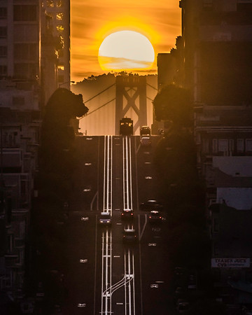 California Street Sunrise
