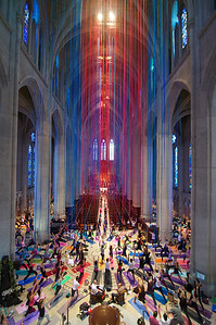 Warriors of Grace- Grace Cathedral, San Francisco, CA