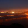 Golden Gate Bridge taken from Hawk's Hill.