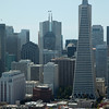 TransAmerica Pyramid Building.  Taken from Coit Tower.