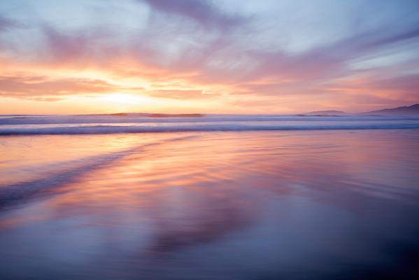 Ocean Beach Sunset, San Francisco, CA