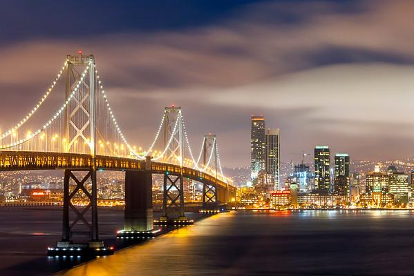 Bay Lights, San Francisco-Oakland Bay Bridge