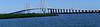 Pano of Fred Hartmann Bridge.  70mm lens on a pano tripod.