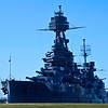 Battleship Texas shot in the afternoon from the old entry road to the old Monument Restaurant.   This shot was in RAW and pp in CS5.  I used the 'Fill Light function in Adobe Camera Raw to illuminate the shadows.