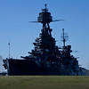 Battleship Texas shot in the afternoon from the old entry road to the old Monument Restaurant.   This shot was in RAW and pp in CS5.