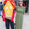 Calcifer and Sophie Hatter