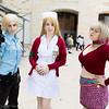 Cybil Bennett, Lisa Garland, and Maria
