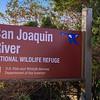 San Joaquin River NWR Sign