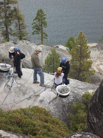 2011-07-11 YW Camp - Climbing