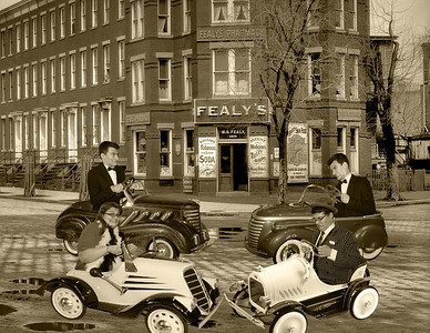 10c 15 Vintage Pedal Cars