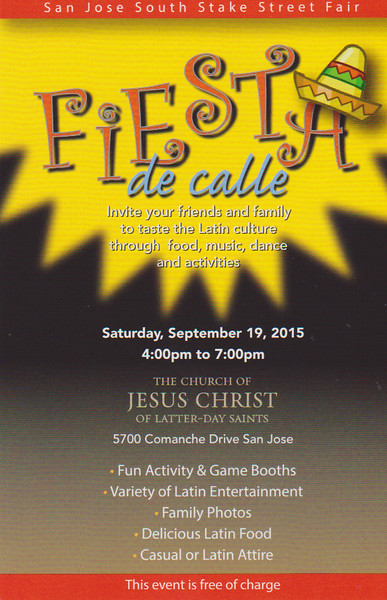 2015-09-19 SJ Stake Street Fair - Fiesta