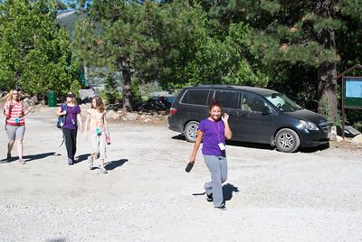 2011-07-11 YW Camp - Hike Level 2