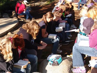 2011-07-11 YW Camp - ScriptureStudy
