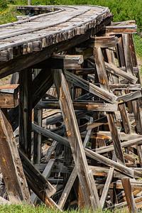 Trout Lake Railroad Trestle, Uncompahgre National Forest, Colorado