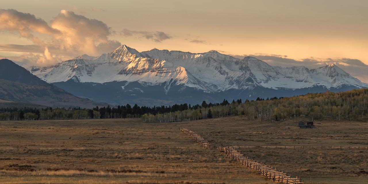 Sunrise over Mt Wilson