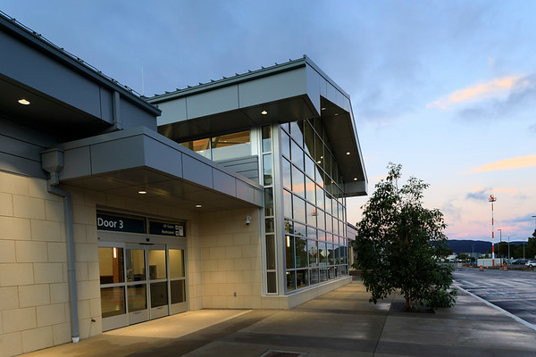 San Luis Obispo County Airport's new terminal
