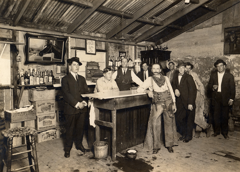 Inhabitants of H&H Bar. #1956.069.004.